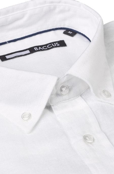 camisa de linho cor branca para homem verão 2021